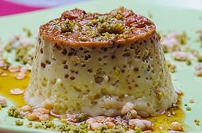 Flan di broccoli e camembert