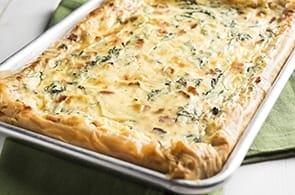 Pasta Sfoglia con Verdure e Formaggio