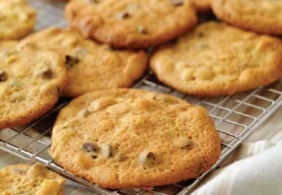 Biscotti con mandorle e melassa