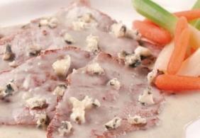 Straccetti di carne con Roquefort