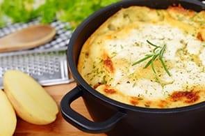 Sbriciolata Patate e Brie