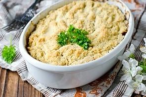 Sbriciolata Zucchine e Brie