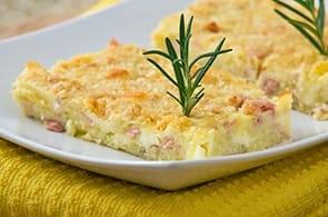 Sformato patate e brie