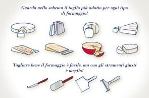 Come tagliare il formaggio?