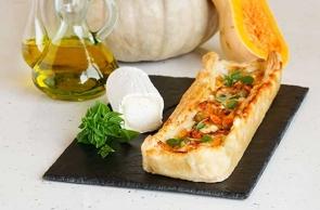 Torte salate e torte rustiche con Tronchetto di Capra