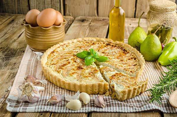 Torte Salate e Torte Rustiche con Roquefort